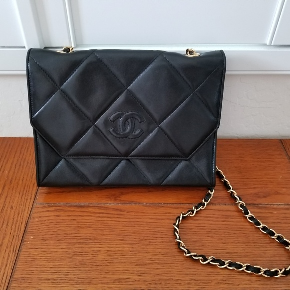 2cbf9c69a9dc Chanel Bags | Flash Sale Classic Quilted Black Chain Bag | Poshmark